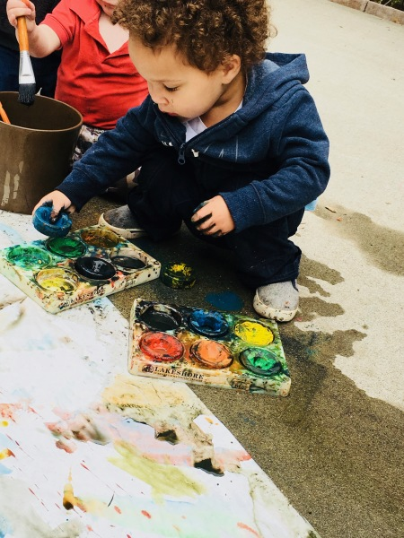 Painting the Toddler Way